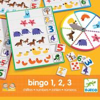 Купить Djeco Обучающая игра Числа Бинго