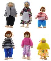 Купить Мир деревянных игрушек Набор кукол Игрушки из дерева