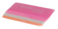Купить Erich Krause Ластик Drive цвет розовый белый оранжевый, Чертежные принадлежности
