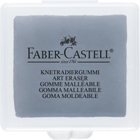 Купить Faber-Castell Художественный ластик цвет серый, Чертежные принадлежности