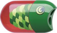 Купить Faber-Castell Точилка с контейнером и ластиком Рыбка, Чертежные принадлежности