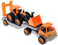Купить Zebratoys Тягач с трактором в ассортименте, Первые игрушки
