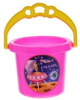 Купить Stellar Ведро цвет розовый 0, 8 л, Игрушки для песочницы