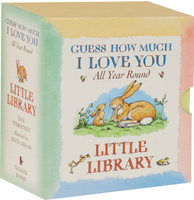 Купить Guess How Much I Love You: All Year Round: Little Library (комплект из 4 книг), Первые книжки малышей