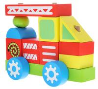 Купить Alatoys Конструктор-каталка Пожарная машина, ООО Алатойс