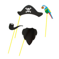 Купить Набор для фотосессии Страна Карнавалия Пират , 4 предмета. 1019773, Карнавальные костюмы и аксессуары