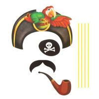 Купить Карнавальный набор для фотосессии Страна Карнавалия Бравый пират , 4 предмета. 1090267, Карнавальные костюмы и аксессуары