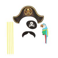 Купить Карнавальный набор для фотосессии Страна Карнавалия Пират , 4 предмета. 1090269, Карнавальные костюмы и аксессуары