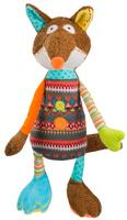 Купить BabyOno Мягкая игрушка-погремушка Лисенок, ONO Pawel Antczak