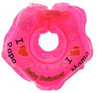Купить Baby Swimmer Круг на шею цвет красный 3-12 кг