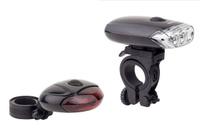 Купить Набор велосипедных фонарей Idol: передний ET-0306 , задний ET-0313 , Велофары и фонари