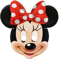 Купить Disney Маска карнавальная детская Минни Маус, Маски карнавальные