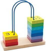 Купить Мир деревянных игрушек Счеты перекидные большие