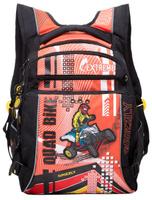 Купить Grizzly Рюкзак детский Quad Bike цвет черный оранжевый