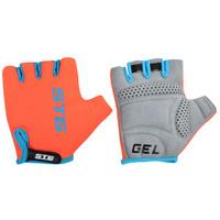 Купить Перчатки велосипедные STG AL-03-325 , летние, цвет: оранжевый, черный. Размер S. Х74365, Велоперчатки