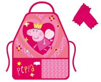 Купить Peppa Pig Фартук для труда с нарукавниками Королева, Аксессуары для труда