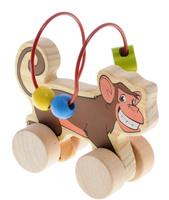 Купить Мир деревянных игрушек Лабиринт-каталка Обезьяна