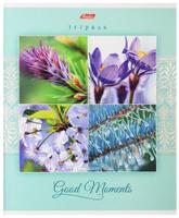Купить Hatber Тетрадь Good Moments 80 листов в клетку цвет светло-бирюзовый
