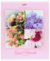 Купить Hatber Тетрадь Good Moments 80 листов в клетку цвет розовый