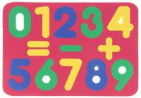 Купить Бомик Пазл для малышей Цифры цвет основы красный