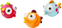 Купить BabyOno Набор игрушек для ванной Рыбки 3 шт, Первые игрушки