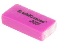 Купить Erich Krause Ластик Joy цвет розовый, Чертежные принадлежности