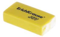 Купить Erich Krause Ластик Joy цвет желтый, Чертежные принадлежности