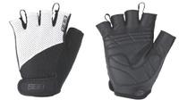 Купить Перчатки велосипедные BBB Chase , цвет: черный, белый. BBW-49. Размер L, Велоперчатки