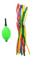 Купить Action! Шары воздушные для моделирования с насосом цвет зеленый 10 шт
