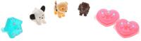 Купить Puppy In My Pocket Набор фигурок и украшений Щенки и сердечки