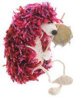 Купить Авторская игрушка YusliQ Ежик-шаман , валяная шерсть. Ручная работа. yi3, Мягкие игрушки