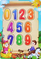 Купить Фабрика Мастер игрушек Рамка-вкладыш Учим цифры, Тимбергрупп