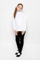 Купить Водолазка для девочки S'cool, цвет: белый. 364007. Размер 122, 7 лет, Одежда для девочек