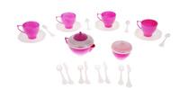 Купить Нордпласт Игрушечный чайный сервиз Волшебная Хозяюшка , 22 предмета, цвет: белый, сиреневый