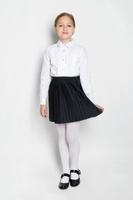 Купить Юбка для девочки S'cool, цвет: черный. 364058. Размер 122, 7 лет, Одежда для девочек