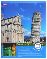 Купить Hatber Тетрадь Италия Пизанская башня 96 листов в клетку
