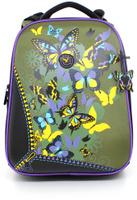 Купить Hatber HD Рюкзак школьный для девочки Ergonomic Бабочки, Hummingbird