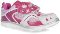 Купить Кроссовки для девочки Let's, цвет: розовый. 421-47. Размер 28 (27), Обувь для девочек