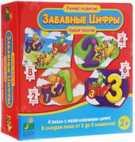 Купить Learning Journey Пазл для малышей Забавные цифры 4 в 1