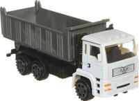 Купить Junfa Toys Самосвал инерционный цвет серый белый