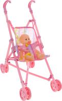 Купить Junfa Toys Пупс София с коляской, Куклы и аксессуары
