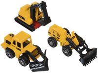 Купить Junfa Toys Набор строительной техники 3 шт, Junfa Toys Ltd, Машинки