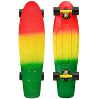 Купить Пенни борд Penny Nickel , цвет: лимонный, зеленый, оранжево-красный, дека 69 х 19 см