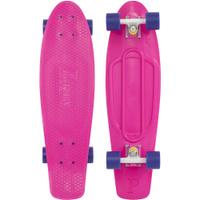 Купить Пенни борд Penny Nickel , цвет: розовый, фиолетовый, дека 69 х 19 см