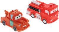 Купить Играем вместе Набор игрушек для ванной Тачки цвет красный коричневый 2 шт, Первые игрушки