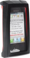 Купить Чехол для смартфона на руль BiKase Flash , водонепроницаемый, цвет: черный, красный, прозрачный, 13, 5 х 8 х 3 см