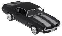Купить Uni-Fortune Toys Модель автомобиля Chevrolet Camaro SS 1969 цвет черный, Uni-FortuneToys Industrial Ltd.