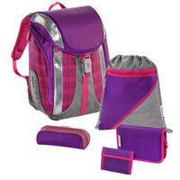 Купить Hama Ранец школьный для девочки Step By Step Dahlia Checked Flexline с наполнением, Ранцы и рюкзаки