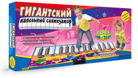 Купить Знаток Звуковой коврик Гигантский напольный синтезатор, Развивающие коврики