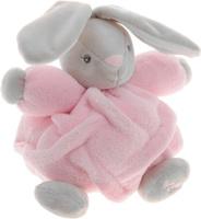 Купить Kaloo Мягкая музыкальная игрушка Заяц цвет розовый серый 17 см, Мягкие игрушки